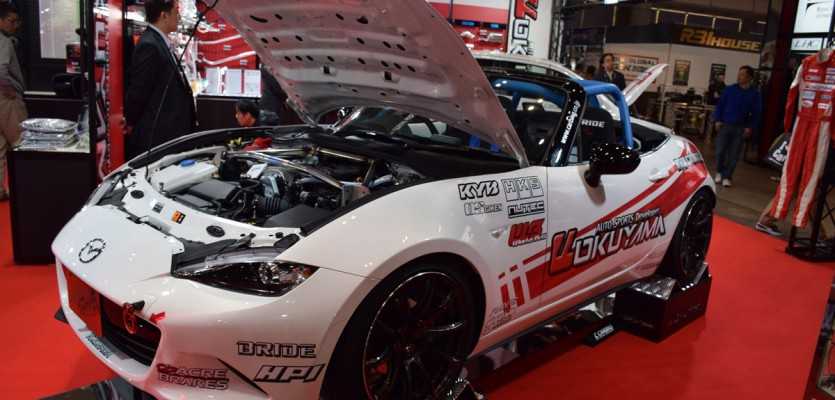 Carbing ND MX-5 Demo Car at TAS2016