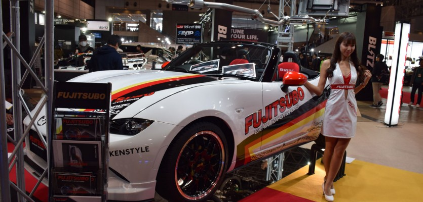 Fujitsubo (KenStyle) ND MX-5 Demo Car at TAS2016