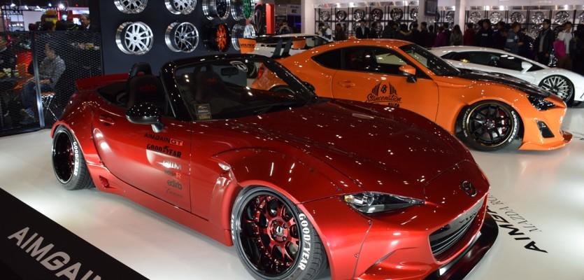 Aimgain ND MX-5 Shop Car at TAS2016