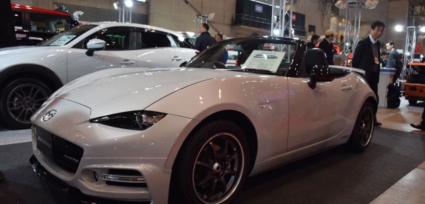 Autoexe ND Miata Demo Car at TAS2016