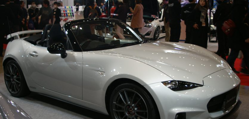 The ND MX-5s at Tokyo Auto Salon 2017