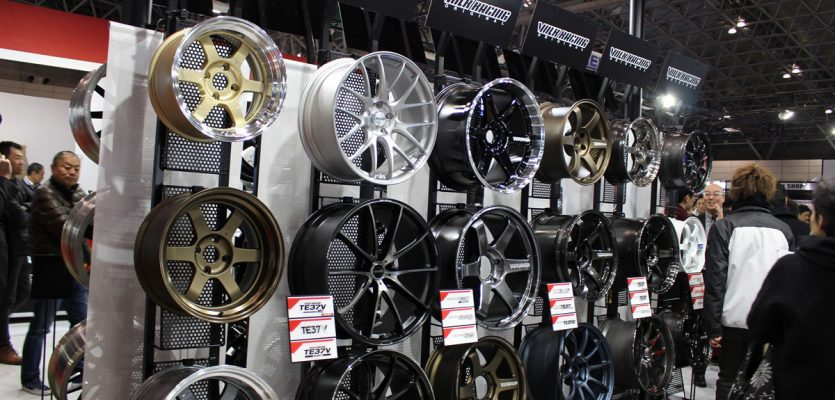 The MX5-Specific Wheels of Tokyo Auto Salon 2018